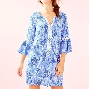 Lilly Pulitzer Hollie Dress XXS Turtley Awesome